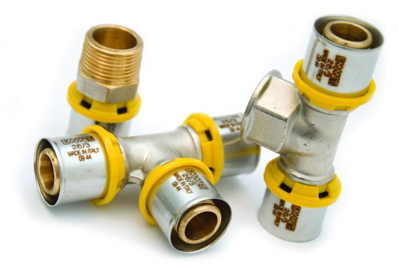 Fábrica de conexões para gás